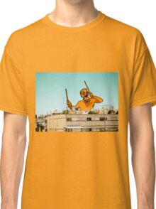 Drummer in the city Classic T-Shirt