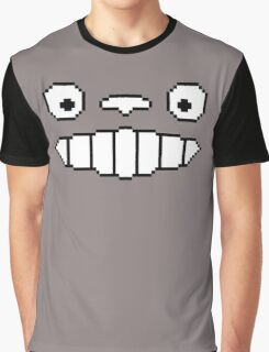 Totoro's Smile 8-Bit Graphic T-Shirt