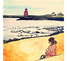 Wildago's View from North Shields Photographic Print