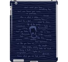 SM iPad Case/Skin
