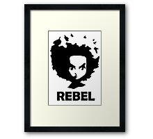 Rebel Huey Framed Print
