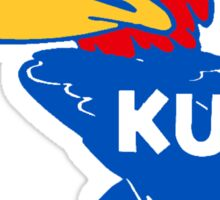 Don't Mess With The Jayhawk! Sticker