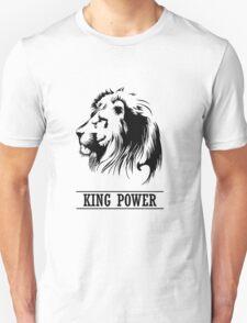 Lion Head,king power,  Unisex T-Shirt