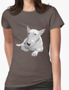 English Bull terrier  Womens Fitted T-Shirt