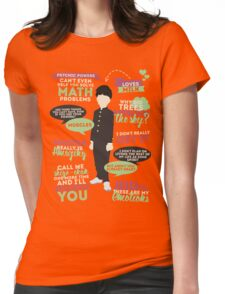Mob Quotes Womens Fitted T-Shirt
