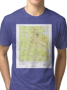 USGS TOPO Map Arkansas AR Star City 260307 1978 62500 Tri-blend T-Shirt