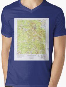 USGS TOPO Map Arkansas AR Star City 260307 1978 62500 Mens V-Neck T-Shirt