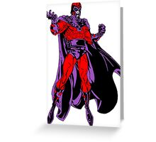 Magneto X-Men Greeting Card