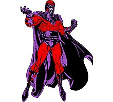 Magneto X-Men Photographic Print