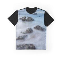 Bass Rock view Graphic T-Shirt