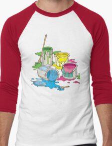 Tin Cans Men's Baseball ¾ T-Shirt