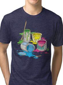 Tin Cans Tri-blend T-Shirt