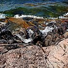 Wreck Island Shore II by Debbie Oppermann
