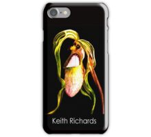 Keith Richards - Orchid Alien Discovery iPhone Case/Skin
