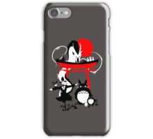 Japanese Creatures iPhone Case/Skin