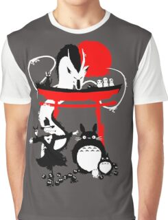 Japanese Creatures Graphic T-Shirt
