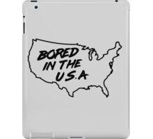 Bored in the U.S.A. iPad Case/Skin