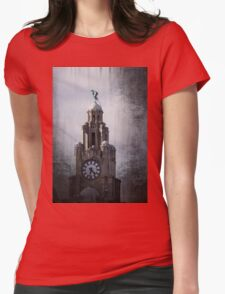The Liverpool Liver Bird Womens Fitted T-Shirt