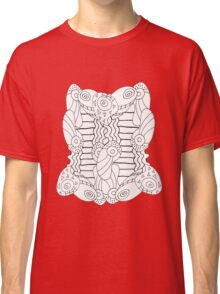 Black and White Abstract 8 Classic T-Shirt