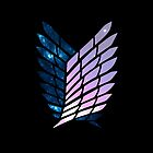 Wings of Space || Survey Corps logo by fullmetaltitan