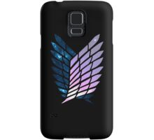 Wings of Space || Survey Corps logo Samsung Galaxy Case/Skin