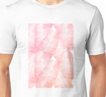 Banana Leaves Pink Unisex T-Shirt