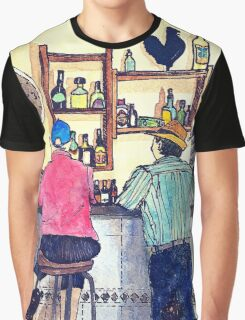 Wildago's Bar in Burgos, Spain Graphic T-Shirt