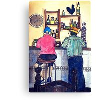 Wildago's Bar in Burgos, Spain Canvas Print