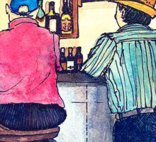 Wildago's Bar in Burgos, Spain Sticker