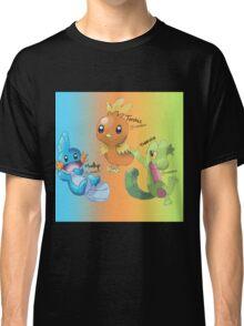 Mudkip, Torchic and Treecko Classic T-Shirt