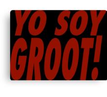 Yo Soy Groot Canvas Print