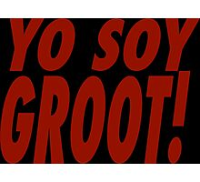 Yo Soy Groot Photographic Print