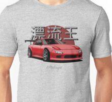 Drifting King RX7 (red) Unisex T-Shirt
