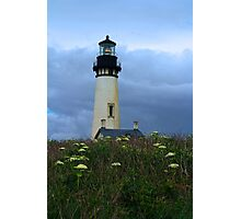 Lighthouse at Yaquina Head Photographic Print