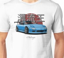 Drifting King RX7 (blue) Unisex T-Shirt