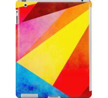 Colorful geometry iPad Case/Skin
