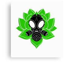 Lotus and Mask Canvas Print