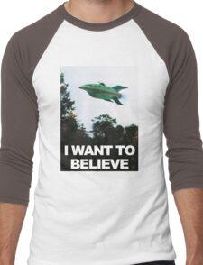 I Want To Believe - Futurama Men's Baseball ¾ T-Shirt