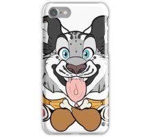Cat Meat - Snow Leopard iPhone Case/Skin