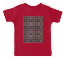 Crochet Square Pattern Design Kids Tee