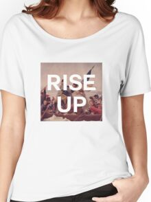 Rise Up - George Washington - inspired by Hamilton Musical Women's Relaxed Fit T-Shirt