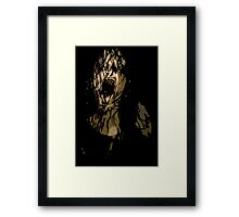Mia la Poseída (Mia Possessed) Framed Print