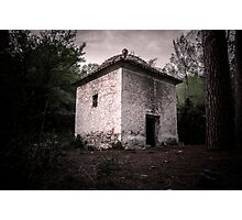 Hermitage in the forest Photographic Print