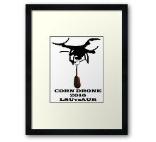 Corn Drone LSU vs Auburn Framed Print