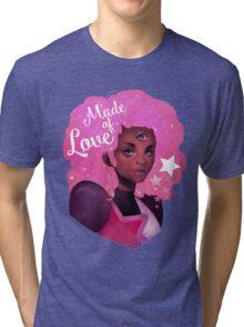 GARNET - STEVEN UNIVERSE - MADE OF LOVE Tri-blend T-Shirt