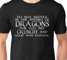 The Affairs of Dragons Unisex T-Shirt