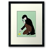 Guess Who Found the Lemon?! Framed Print