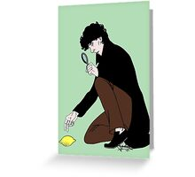 Guess Who Found the Lemon?! Greeting Card