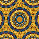 Kaleidoscope N0. 7 - Blue and Tan by PhotosByHealy