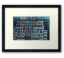 Boston Architecture Framed Print